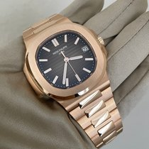 Patek Philippe Nautilus Rose gold 40mm Brown No numerals United States of America, California, Sunnyvale
