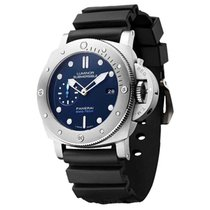 Panerai Luminor Submersible 1950 3 Days Automatic Titanium 47mm Blue No numerals United States of America, Florida, Boca Raton
