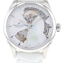 Hamilton Jazzmaster Lady Steel 36mm Mother of pearl