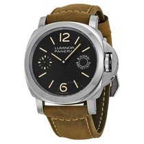 Panerai Luminor Marina 8 Days Stål 44mm Svart Arabiska