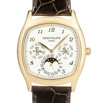 Patek Philippe Perpetual Calendar Yellow gold 44.6mm Silver