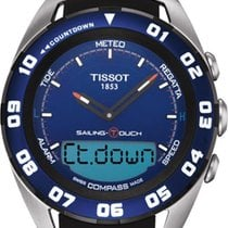 Tissot Sailing-Touch new Quartz Watch with original box and original papers T0564202704100
