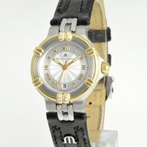 Maurice Lacroix Damenuhr Calypso 26mm Quarz gebraucht Nur Uhr