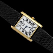 Cartier Tank Vermeil Gold/Steel 23.5mm White Roman numerals United States of America, Georgia, Suwanee