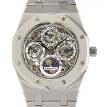 Audemars Piguet Royal Oak Perpetual Calendar Stahl 39mm Transparent Keine Ziffern