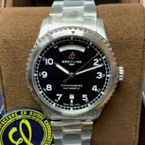 Breitling Aviator 8 Steel 41mm Black Arabic numerals United Kingdom, Wilmslow
