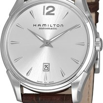 Hamilton Jazzmaster Slim Acier 43mm Argent Sans chiffres