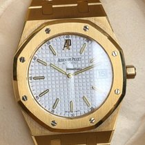Audemars Piguet Royal Oak Jumbo usados Blanco Oro amarillo