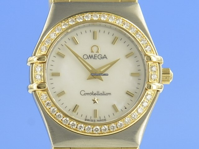 Omega Constellation Ladies 12677000 pre-owned