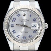 Rolex Datejust II Acier 41mm Gris Arabes