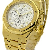 Audemars Piguet Royal Oak Chronograph Oro amarillo Blanco España, Barcelona