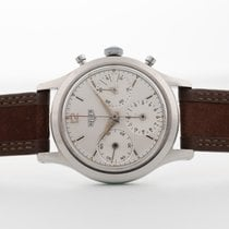 Heuer Steel 35mm Manual winding 2444 pre-owned