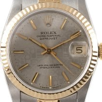 Rolex Lady-Datejust Acero y oro 31mm Plata