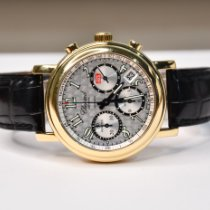 Chopard Yellow gold Automatic Black Arabic numerals 38mm pre-owned Mille Miglia