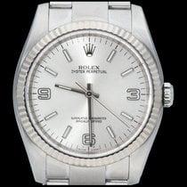 Rolex Oyster Perpetual 36 Steel 36mm Silver Arabic numerals