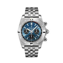 Breitling Chronomat 44 Steel 44mm Blue Arabic numerals United States of America, New York, New York