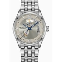 Hamilton Jazzmaster Open Heart Steel Silver Arabic numerals United States of America, New York, Brooklyn