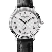 Frederique Constant Slimline Mid Size Steel Roman numerals United States of America, New York, Brooklyn