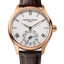 Frederique Constant Horological Smartwatch Roman numerals United States of America, New York, Brooklyn