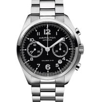 Hamilton Khaki Pilot Pioneer Steel 41mm Black United States of America, New York, Brooklyn