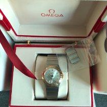 Omega Constellation Quartz 123.20.27.60.02.001 Very good Gold/Steel 27mm Quartz The Philippines, Quezon City