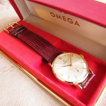 Omega Yellow gold 33mm Manual winding Century Cal. 269 pre-owned