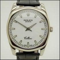 Rolex Cellini Danaos White gold 38mm White No numerals