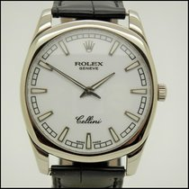 Rolex Cellini Danaos Oro blanco 38mm Blanco Sin cifras España, BARCELONA