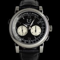 A. Lange & Söhne Double Split Platinum 43mm Black