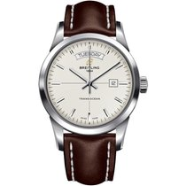Breitling Transocean Day & Date Steel 43mm United States of America, New York, New York City