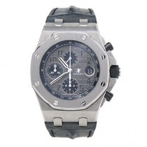 Audemars Piguet Royal Oak Offshore Chronograph Steel 42mm Grey United States of America, New York, New York City