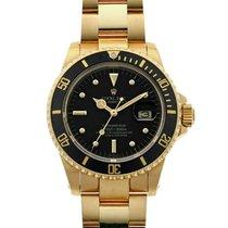 Rolex 16808 Yellow gold Submariner Date 40mm United States of America, New York, New York City