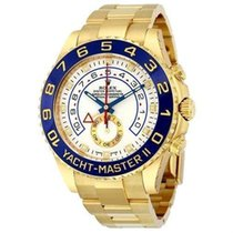 Rolex Yacht-Master II Yellow gold 44mm White United States of America, New York, New York City