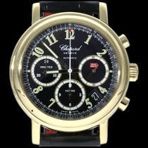 Chopard Yellow gold Automatic Black Arabic numerals 39mm pre-owned Mille Miglia