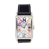 Franck Muller Color Dreams White gold 32mm White Arabic numerals