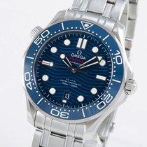 Omega Seamaster Diver 300 M новые 2021 Автоподзавод Часы с оригинальными документами и коробкой 210.30.42.20.03.001