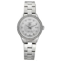 TAG Heuer Carrera Lady pre-owned 28mm Mother of pearl Steel