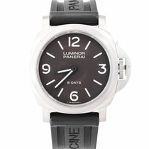 Panerai Luminor Base 8 Days Titanium 44mm Brown Arabic numerals United States of America, New York, Massapequa Park