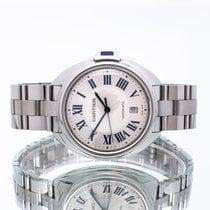 Cartier Clé de Cartier Acero 40mm Plata Romanos