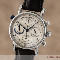 Chronoswiss Tora Steel 38mm Silver