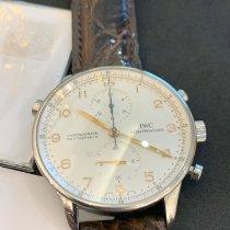 IWC Portuguese Chronograph occasion 41mm Argent Chronographe Boucle ardillon