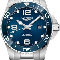 Longines HydroConquest Steel 43mm Blue Arabic numerals United States of America, Iowa, Des Moines