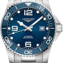 Longines HydroConquest Steel 41mm Blue Arabic numerals United States of America, Iowa, Des Moines