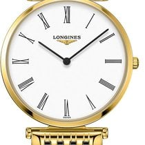 Longines La Grande Classique Steel White United States of America, Iowa, Des Moines