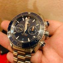 Omega 232.90.46.51.03.001 Acier 2017 Seamaster Planet Ocean Chronograph occasion