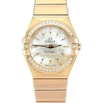 Omega Constellation Quartz Rose gold 27mm Mother of pearl No numerals United Kingdom, Manchester