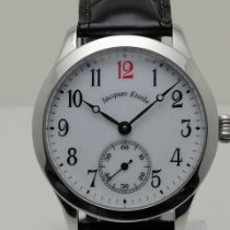 Jacques Etoile Steel 37mm Manual winding 22/50 pre-owned United States of America, New York, Hillburn