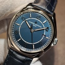 Vacheron Constantin Fiftysix Steel 40mm Blue United States of America, Iowa, Des Moines