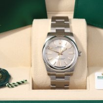 Rolex Oyster Perpetual 34 Steel 34mm Black No numerals United States of America, California, Los Angeles