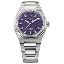 Girard Perregaux Laureato Steel 38mm Purple United States of America, New York, New York